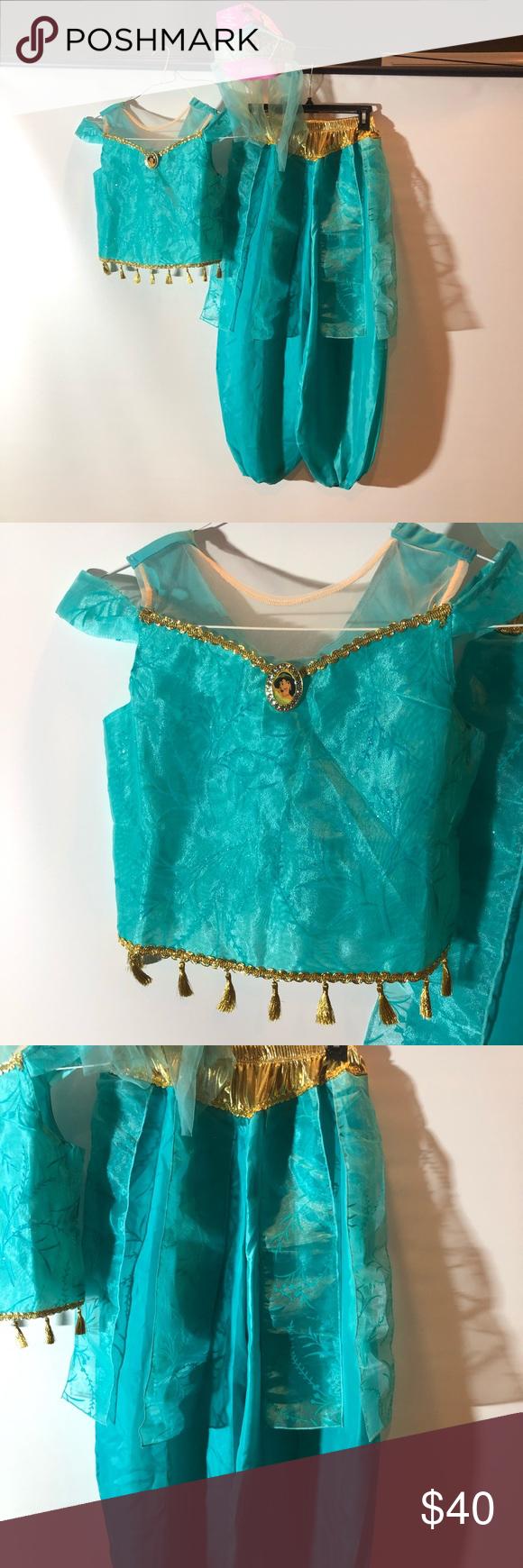 NWT Disney Store Princess Jasmine Costume NWT Princess
