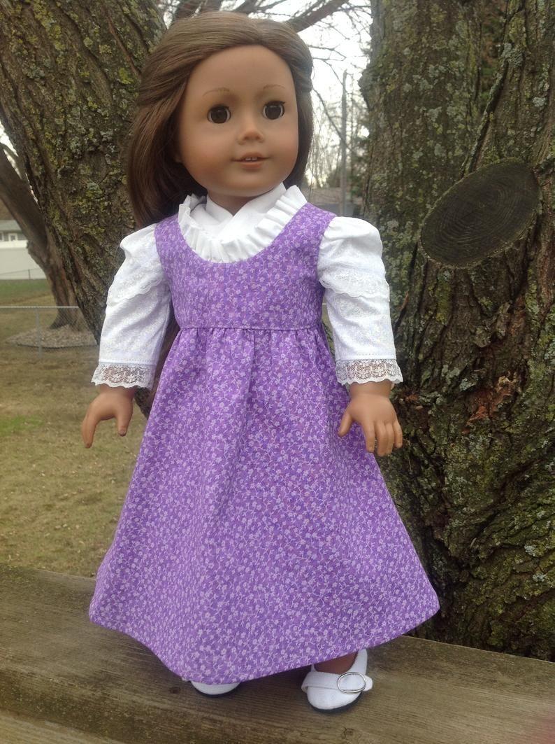 Regency Era dress historical doll clothing 18 inch dolls | Etsy #historicaldollclothes