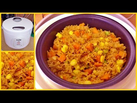 Howto make fried rice in a rice cooker youtube nom rice howto make fried rice in a rice cooker youtube ccuart Gallery