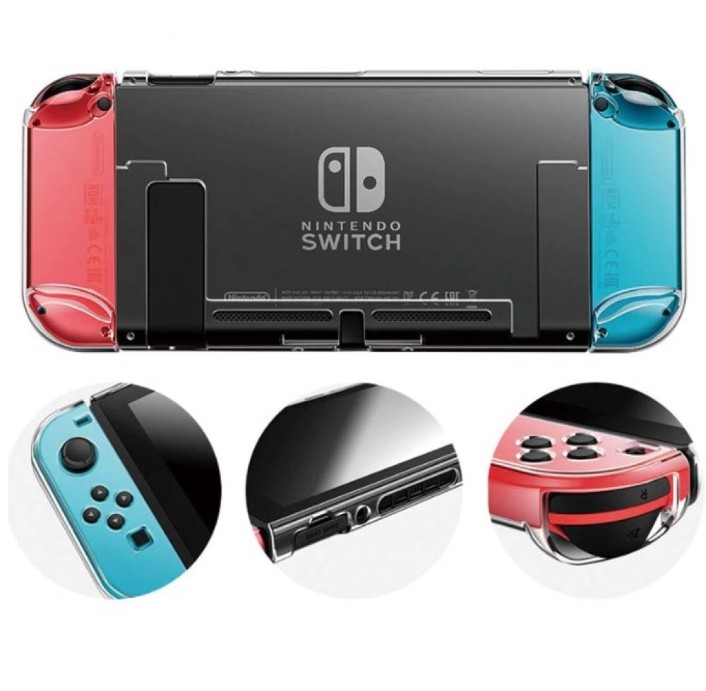 Transparent Design Case for Nintendo Switch | Console