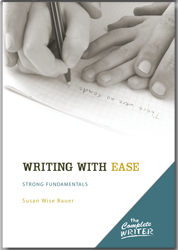 This is a markedly different approach to teaching writing than what the public schools use.  After seeing countless high school graduates who can't write coherently, I wanted something different!
