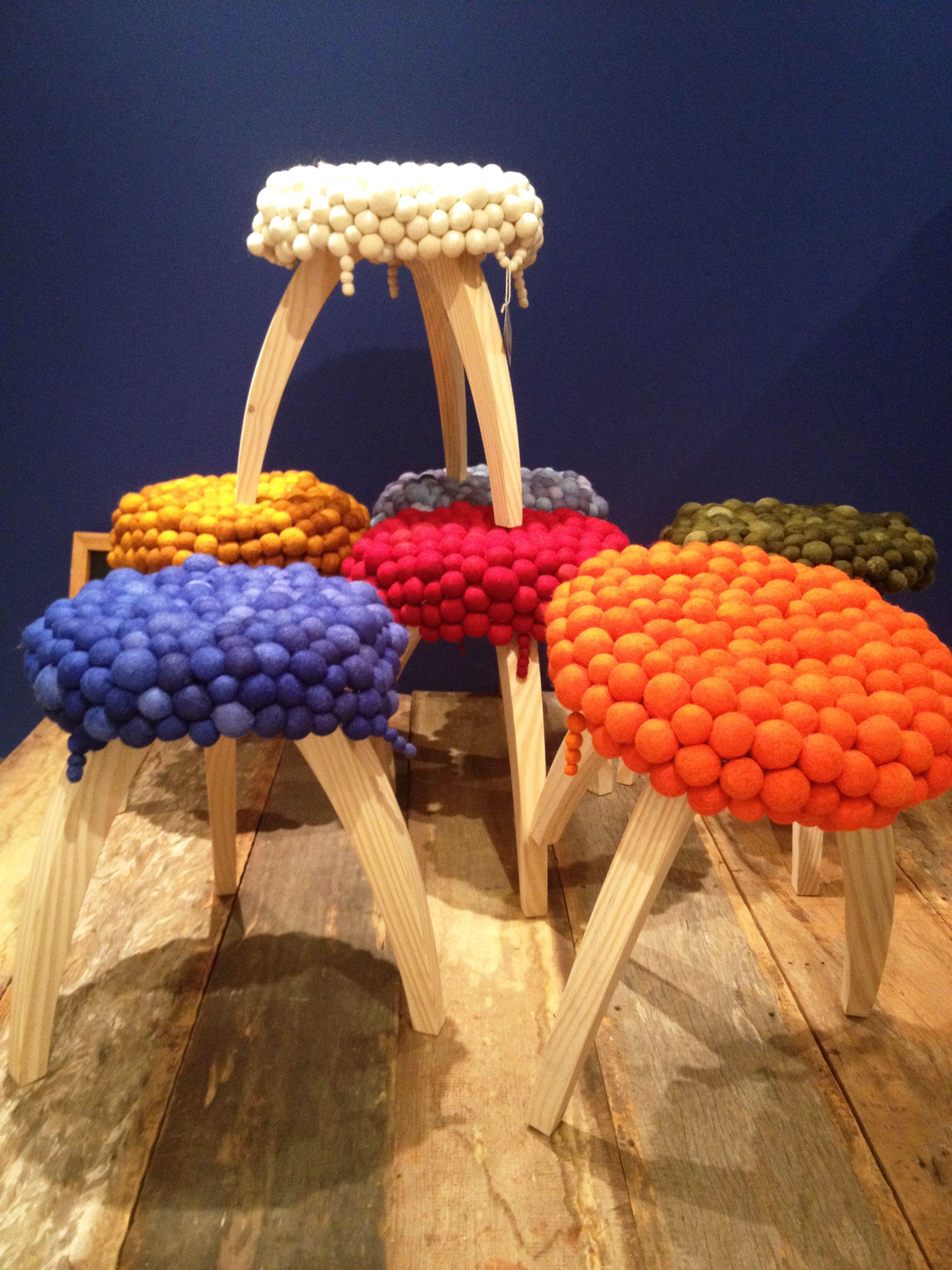 Cores, artesanato e lã