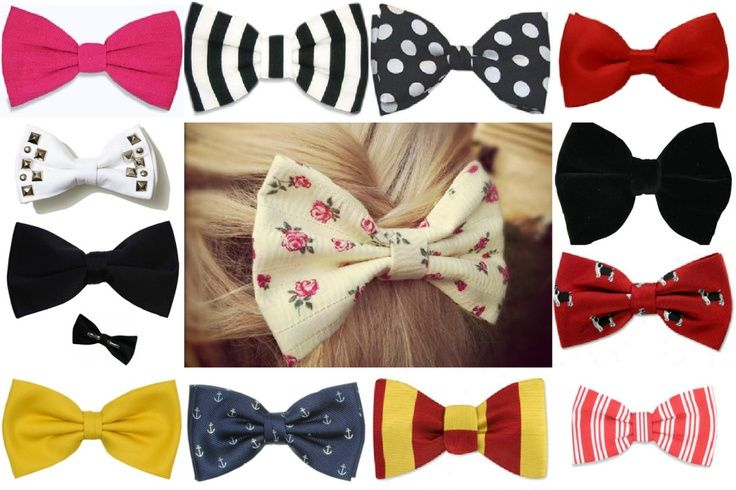 DIY-turorial} no sew hair bow / bow tie #Christmas #thanksgiving #Holiday #quote