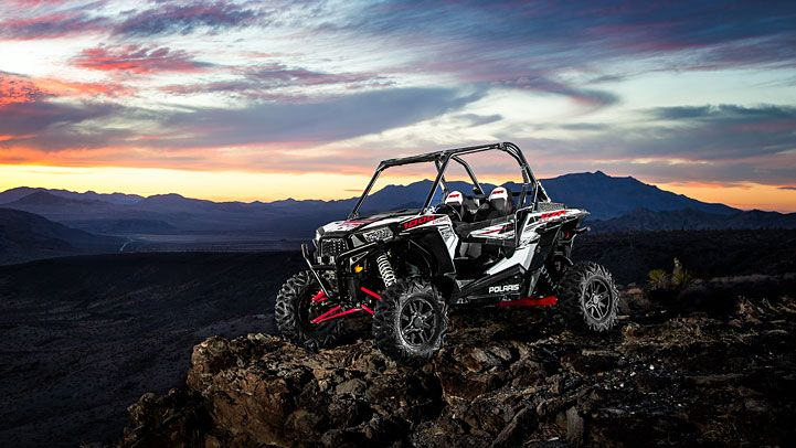 2014 Polaris RZR XP 1000 EPS White Lightning LE Side by Side : Features CA