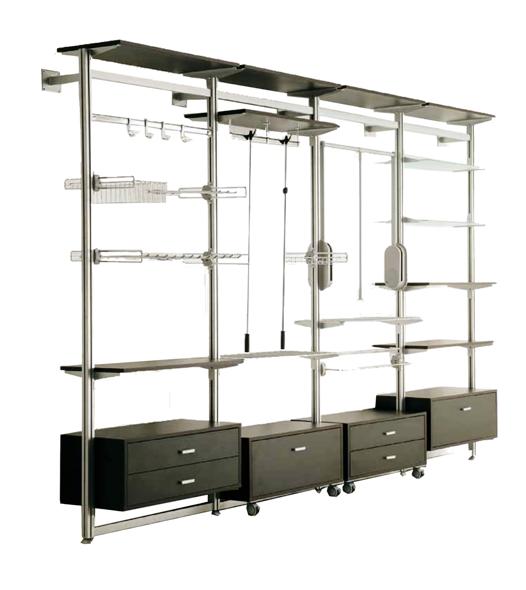 Componenti ed elementi per armadi o cabine armadio per la ...