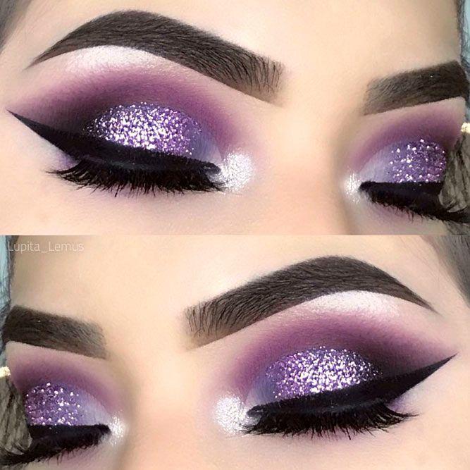 30 Purple Smokey Eye Makeup Ideas To