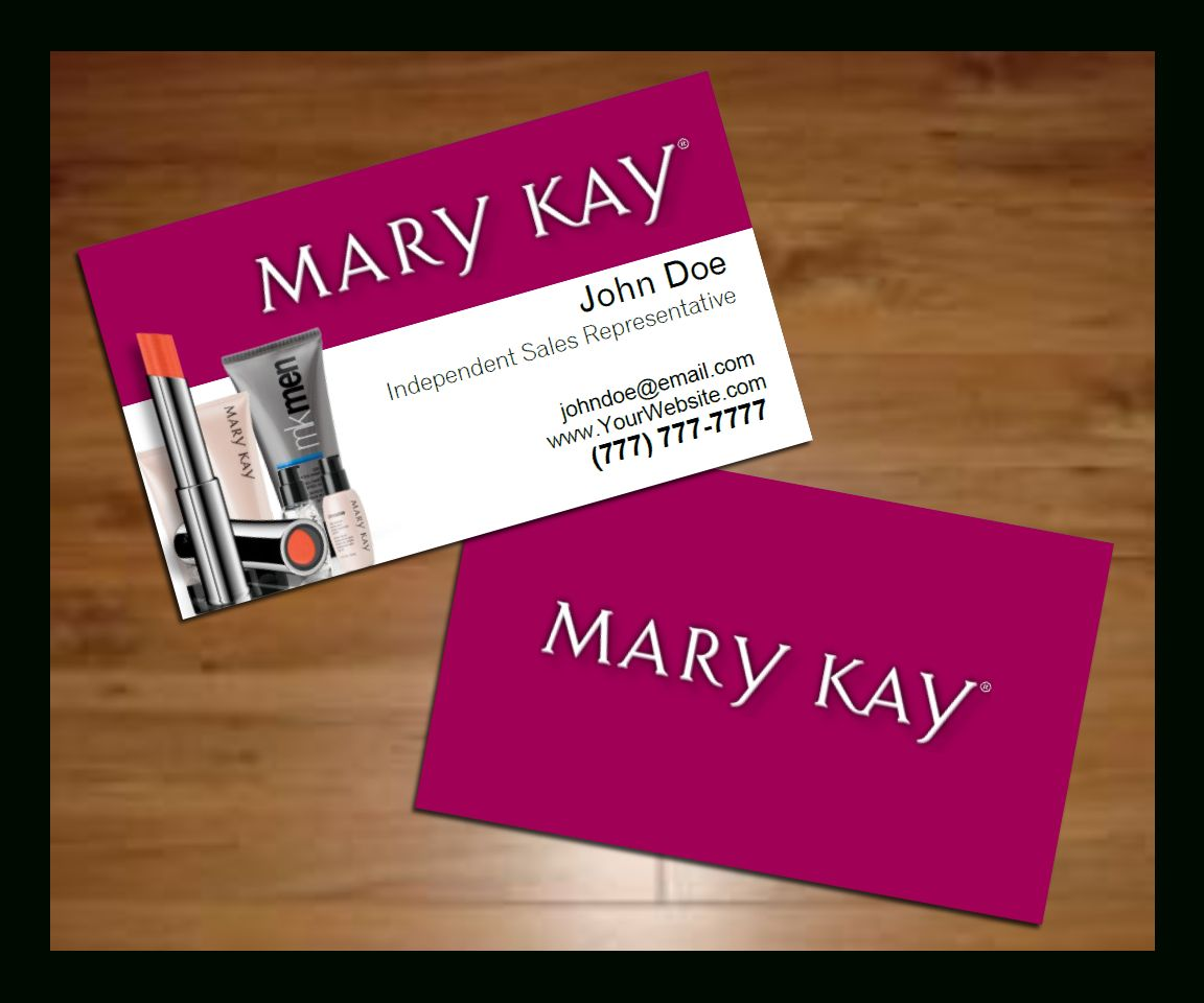 Mary Kay Business Cards Template Free Plants Free Throughout Mary Kay Busines Mary Kay Business Cards Printable Business Cards Free Business Card Templates