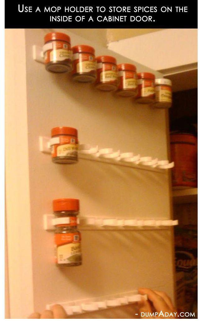 SpiceStor 20 Cabinet Door Spice Clips - Walmart.com