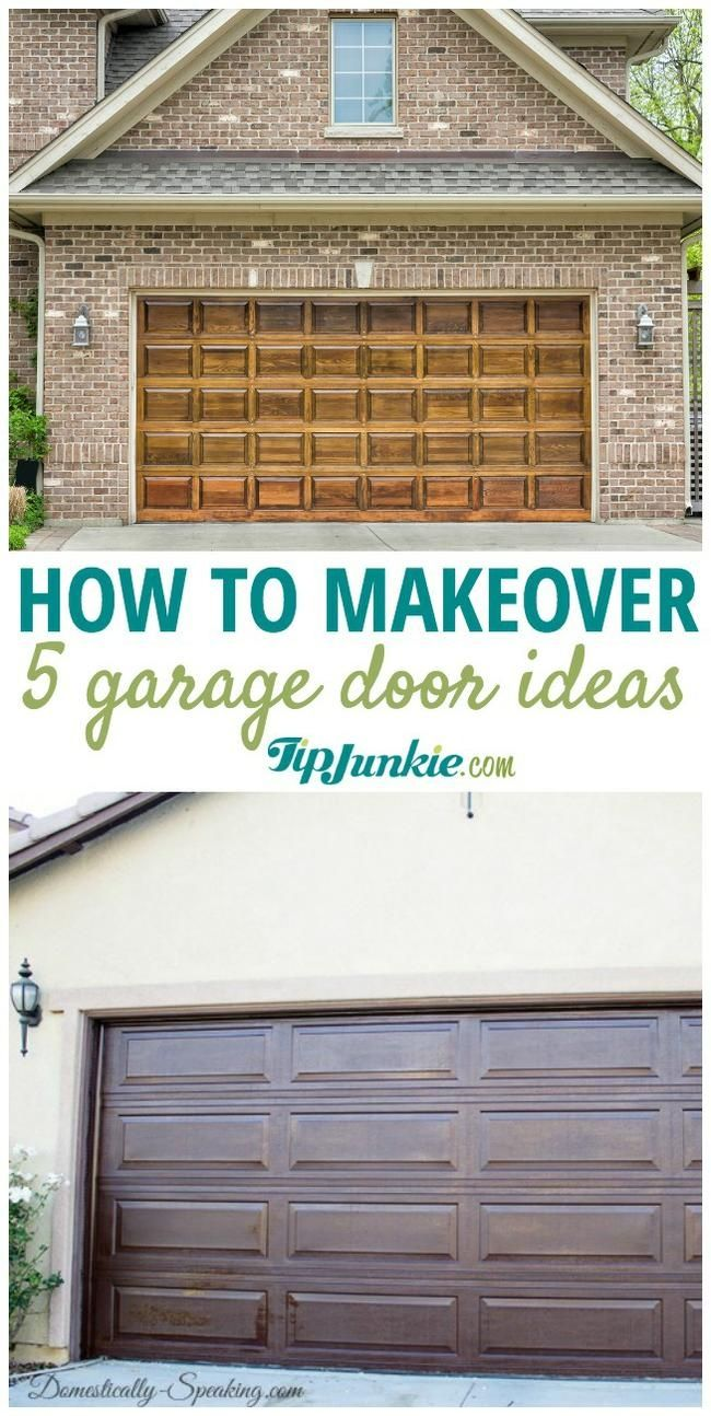5 How To Make Over Your Garage Door Ideas Diy Garage Door