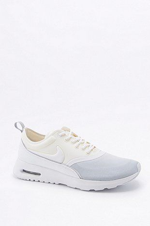 new style 3f490 bb85f Nike Air Max Thea Ultra Grey and White Trainers