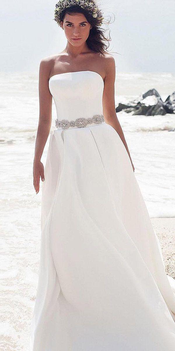 24 Excellent And Elegant Silk Wedding Dresses   Pinterest   Wedding ...
