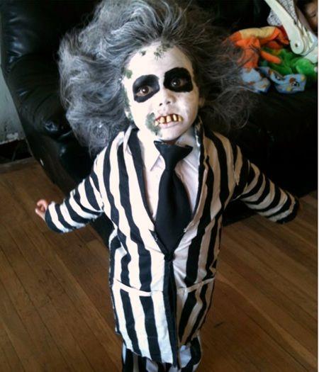 disfraz de halloween que den miedo