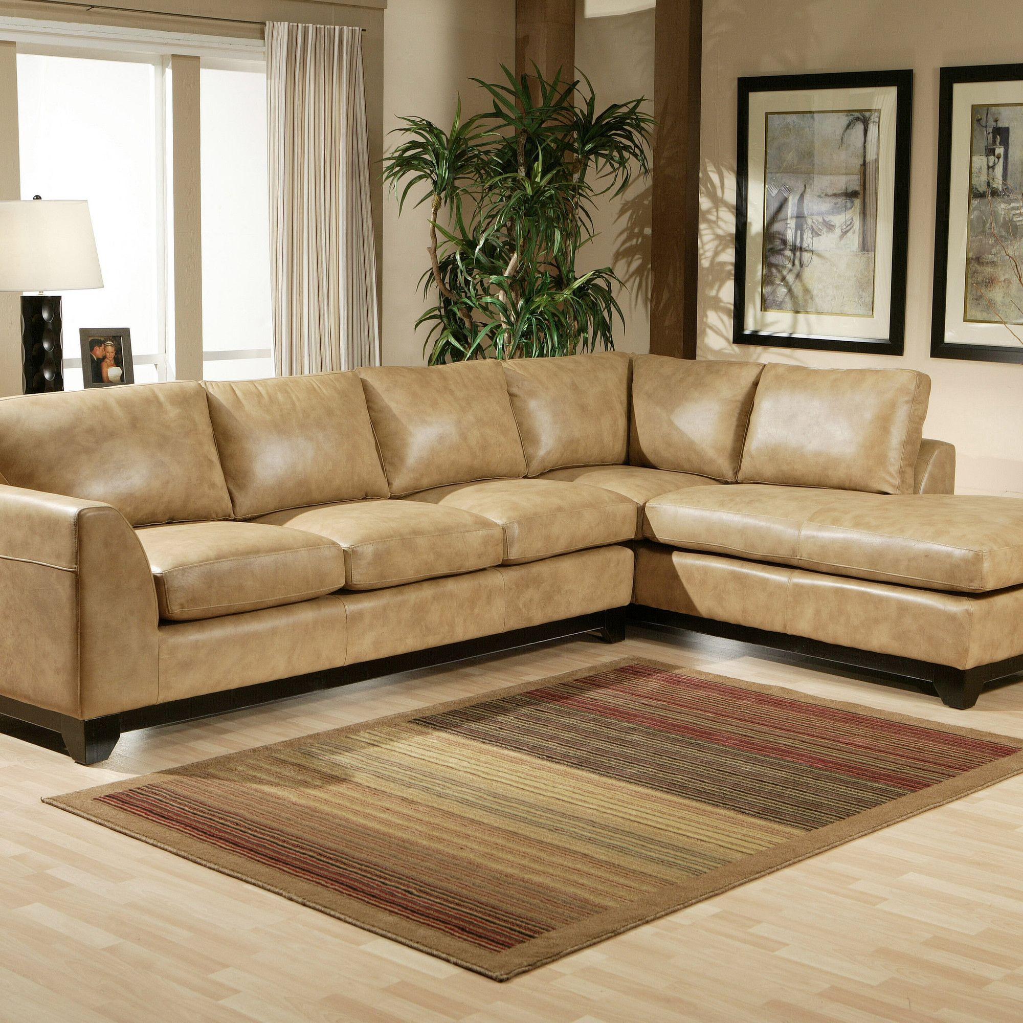 Omnia Furniture City Sleek Leather Sectional Leather Living Room Set City Furniture Living Room Sets