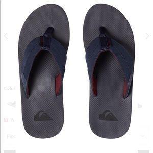 NWT Quiksilver Coastal Oasis Sandals