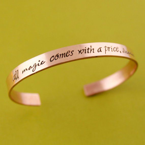 Pin for Later: Gift Guide: 400+ Pop Culture Presents  Magic Comes With a Price Bracelet ($20-$52)