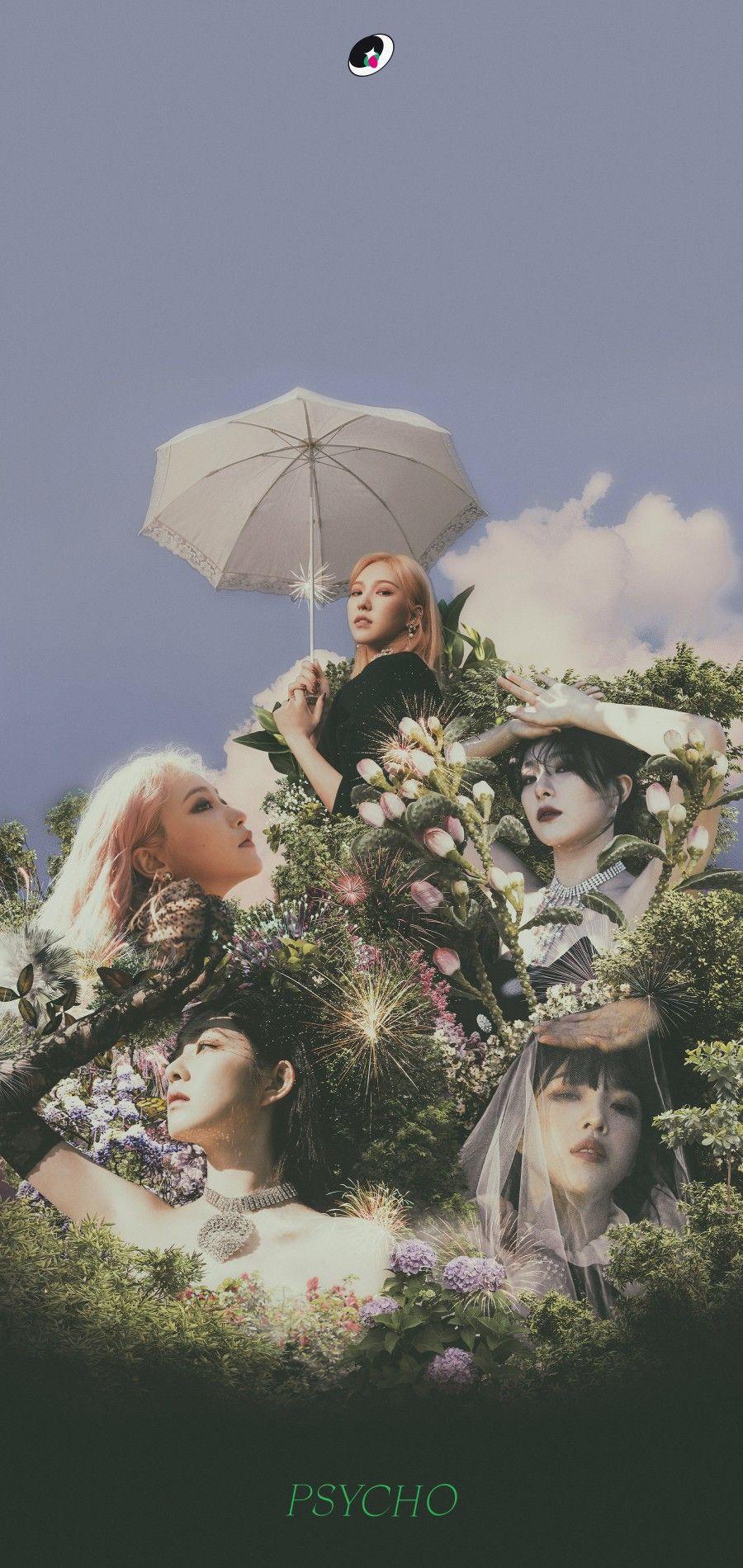 Red Velvet Lockscreen Gambar Fotografi Gambar Karakter