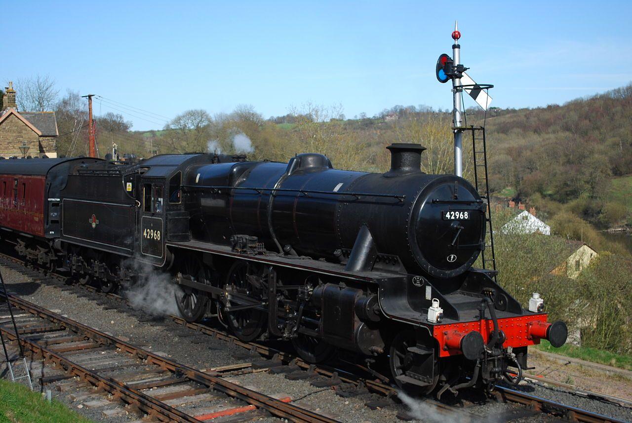 42968 Lms Stanier Class 5mt 2 6 0 No 42968 Ex Lms No 2968 Ex