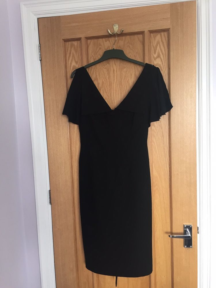 b26c6dff0 Ted Baker Black Knee Length Dress Size 14  fashion  clothing  shoes   accessories  womensclothing  dresses (ebay link)