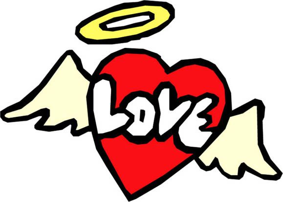 Drawings Of Hearts With Wings Clipart Best Con Imagenes