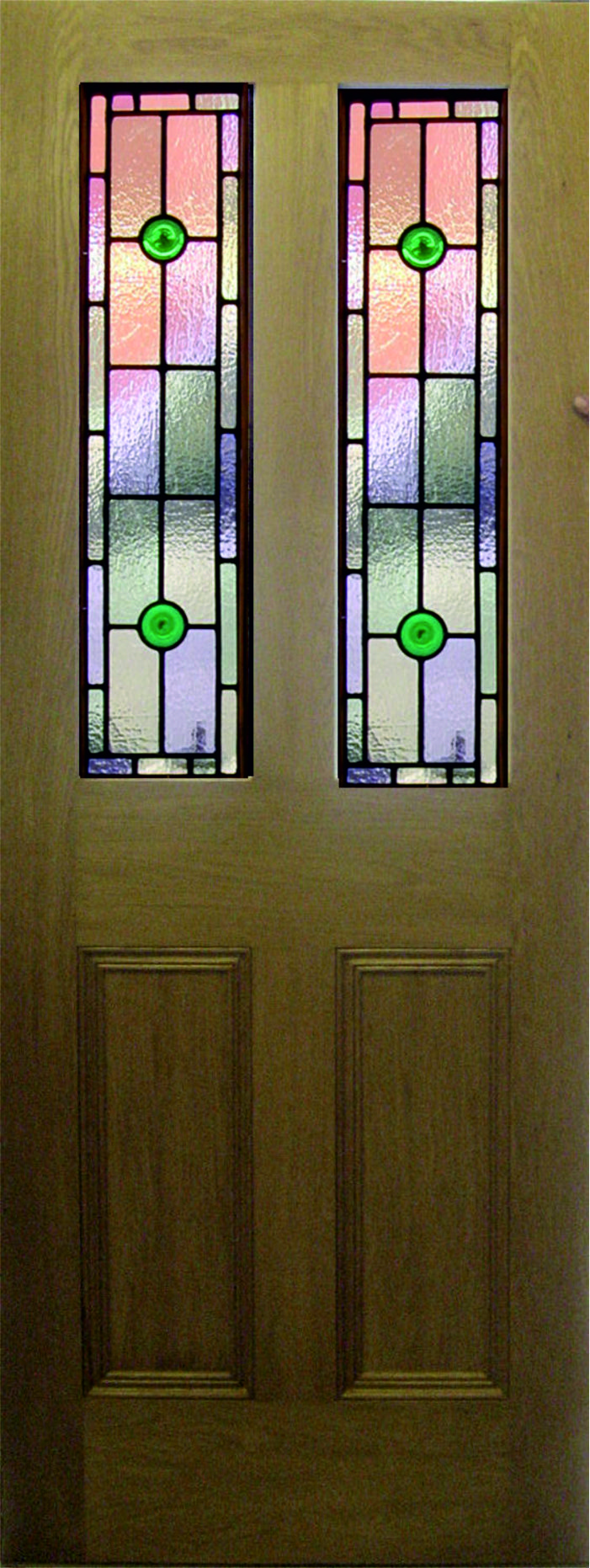 Leaded Light 9 Panel Knowsley Art Glass
