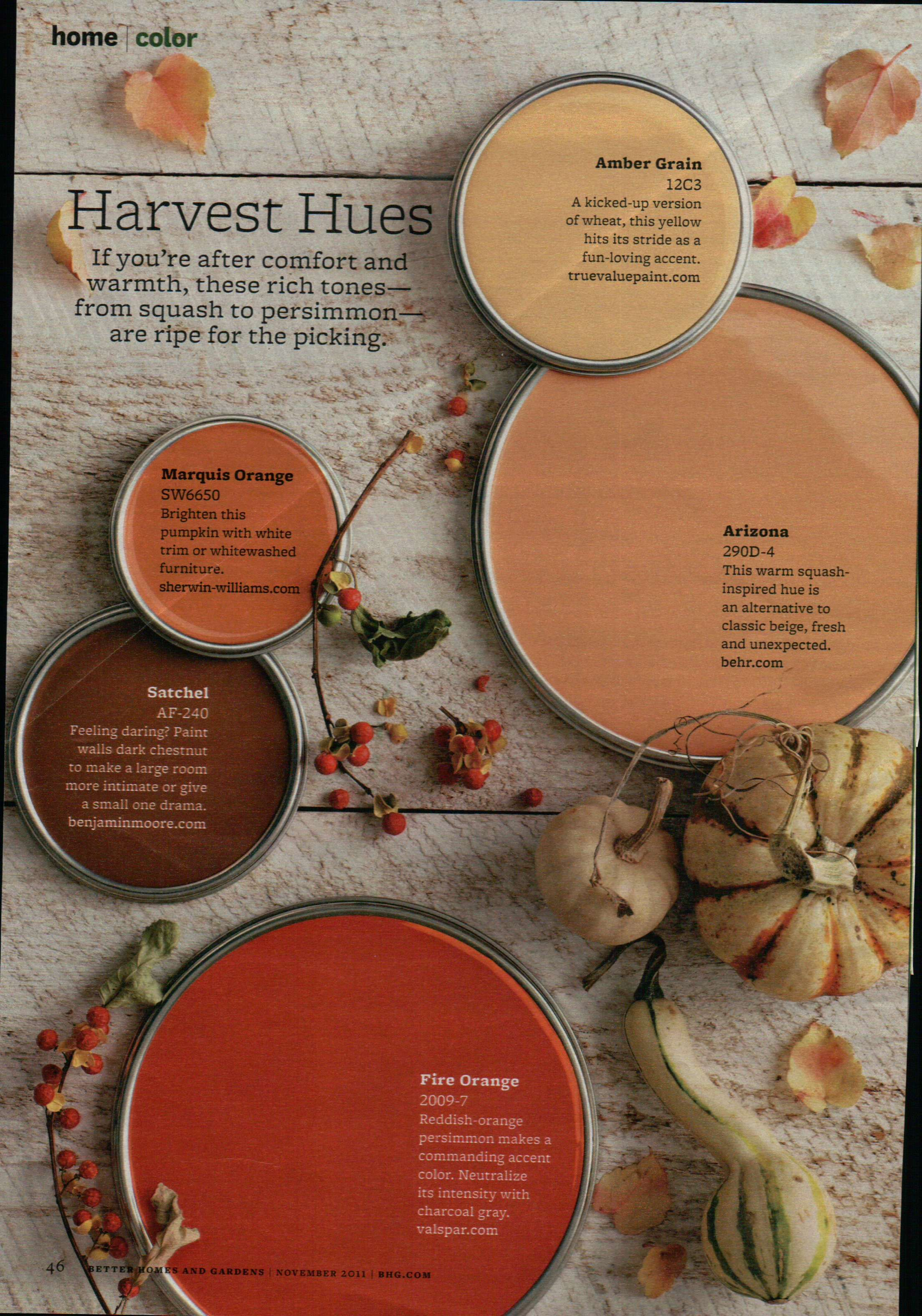 Harvest Hues Paint Painting Tips Amp Color Ideas