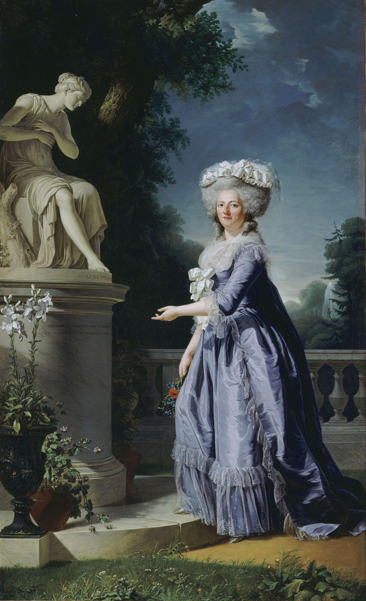 Madame Victoire, 1788, Adélaïde Labille-Guiard. | Marie thérèse, Thérèse,  Marie antoinette