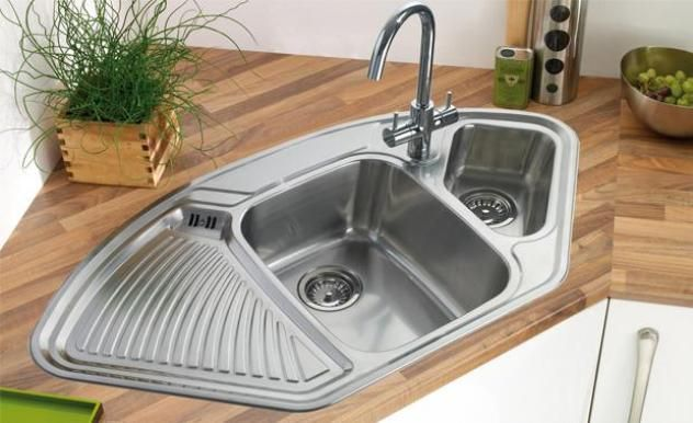 The Pros And Cons Of Corner Kitchen Sink Ide Dapur Dapur Idaman Dapur