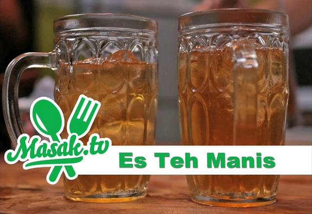 Trueid Indonesia Teh Manis Es Teh Minuman