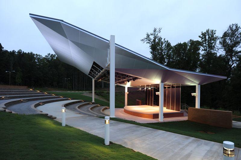 Piedmont College Amphitheater Opera Outdoor Stage Amphitheater Architecture Theater Architecture