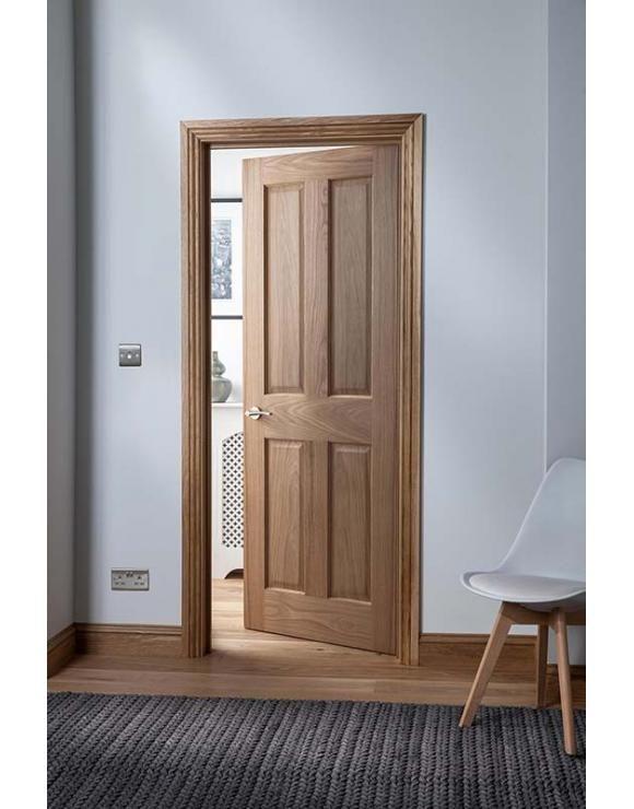 Cheshire panel oak internal door in solid wood interior doors pinterest and also rh