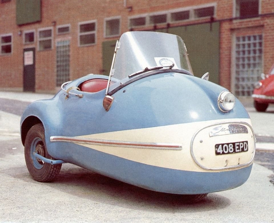 1957 Brutsch Mopetta Microcar Mini Cars Small Cars
