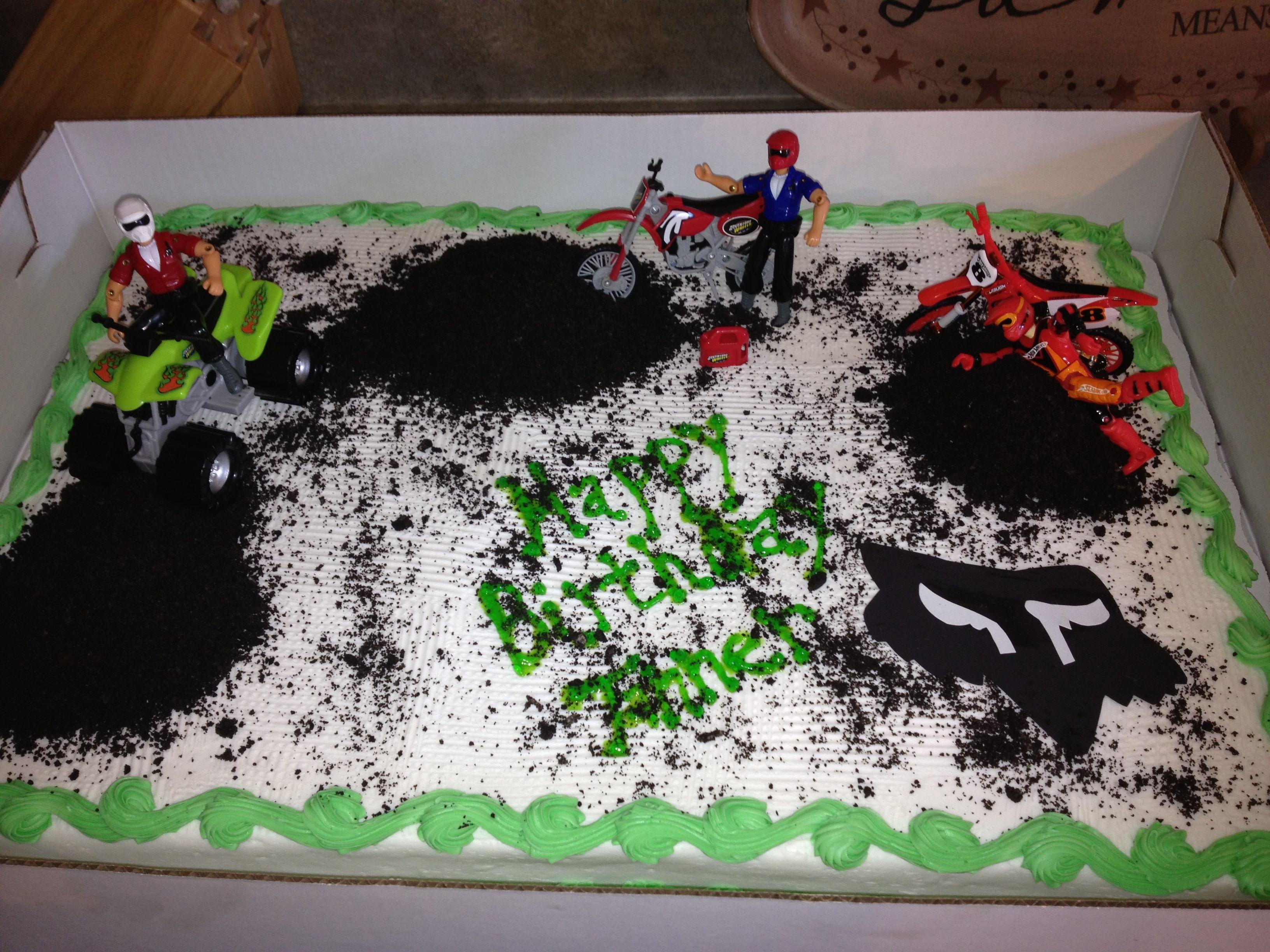 Fox Racing Cake Fox Racing Cake Racing Cake Birthday
