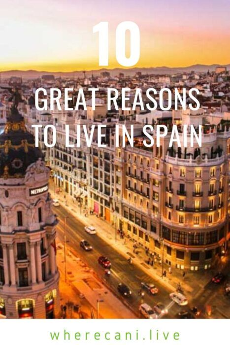 Thinking of moving to Spain?  We can give you some