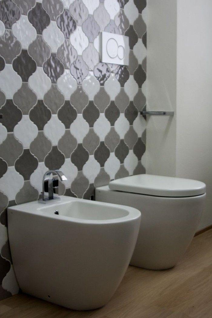 marokkanische fliesen zementfliesen interirdesign ideen wohnung - badezimmer gestalten ideen