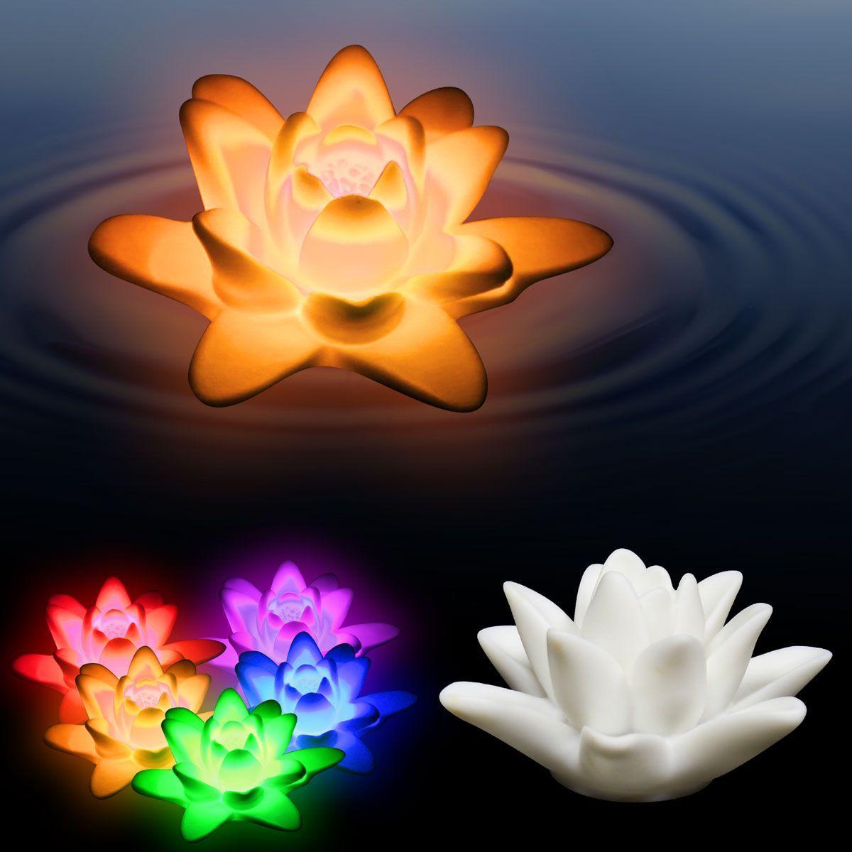 Led floating lotus flower windy city novelties wish listlol led floating lotus flower windy city novelties izmirmasajfo Gallery