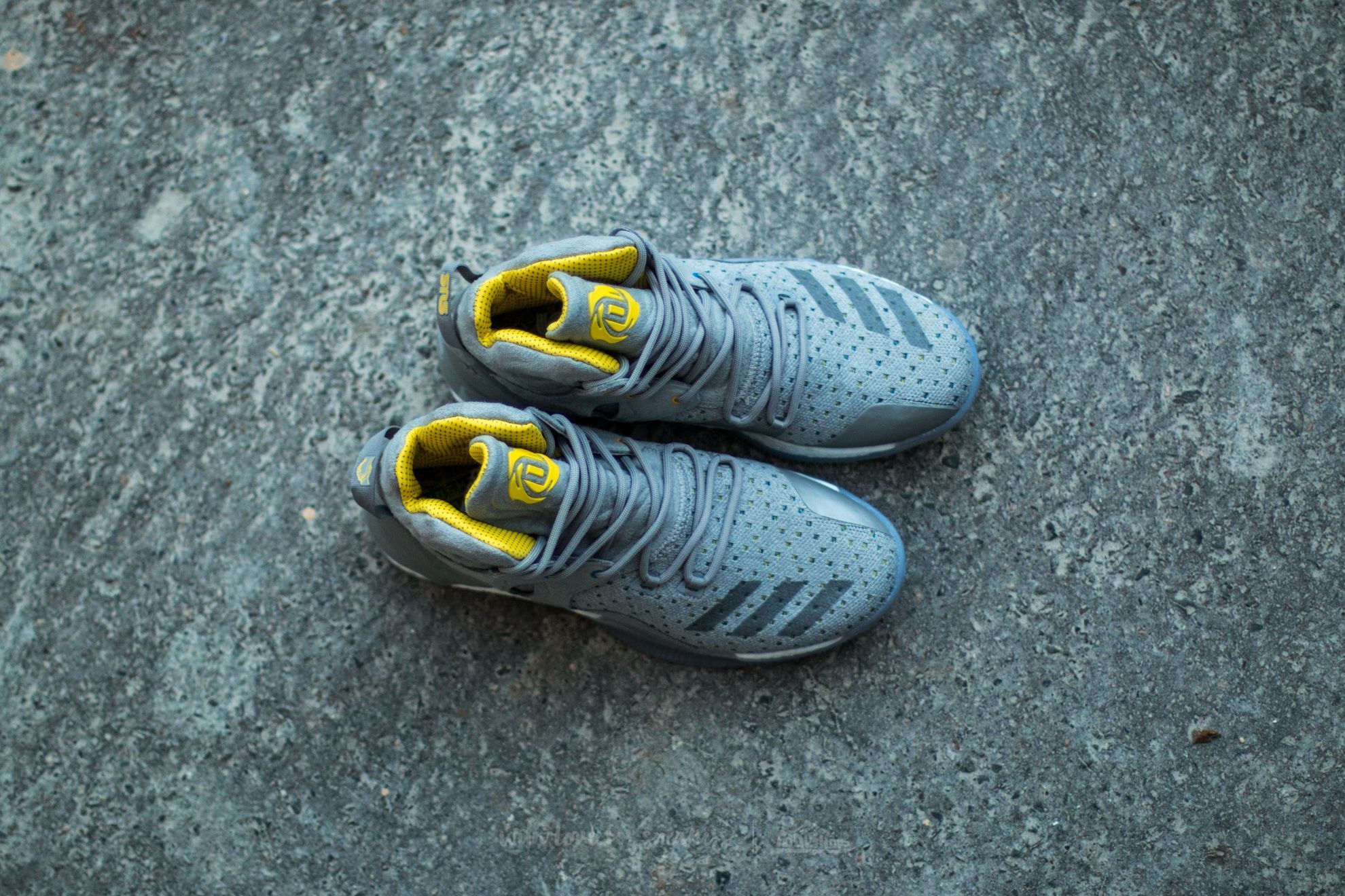ef650fb2efb5 ... shoes mens yellow 96e72 1fce7  norway adidas consortium x  sneakersnstuff d rose 7 primeknit grey core yellow at a great price