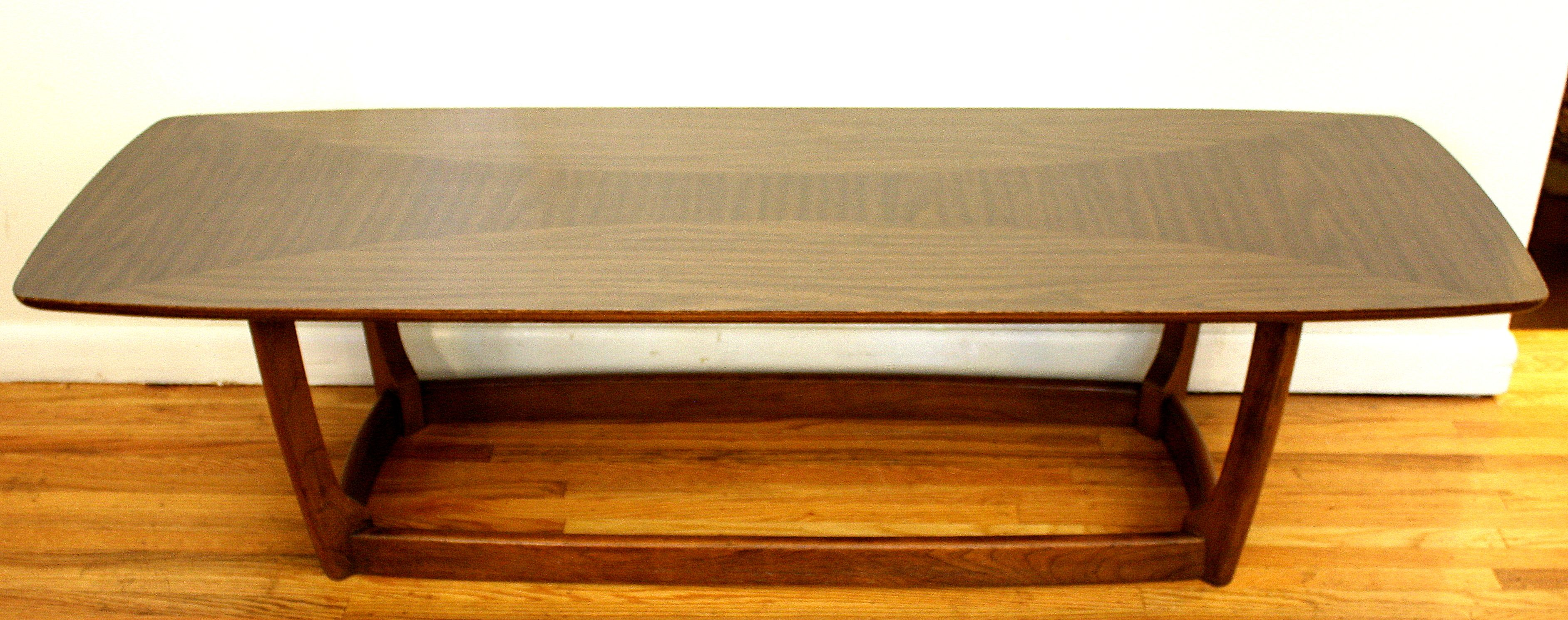 Mid Century Modern Surfboard Coffee Table This is a mid century