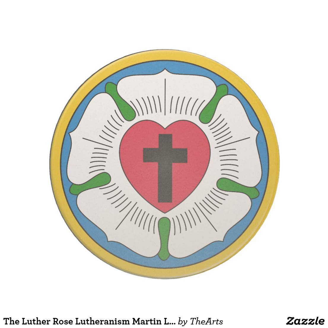 The luther rose lutheranism martin luther drink coaster lutheran the luther rose lutheranism martin luther drink coaster protestant reformationlutheranmartin buycottarizona