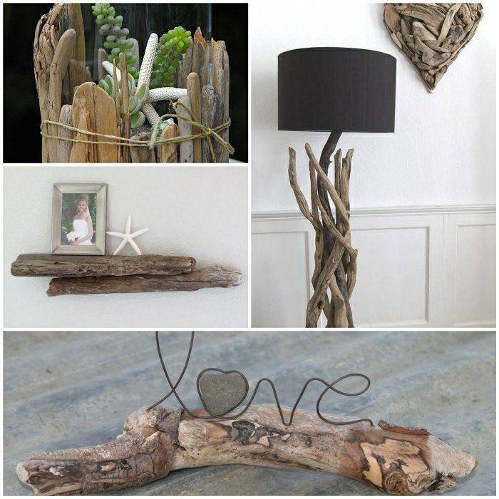 Charming Einfache Dekoration Und Mobel Ungewoehnliche Wohnideen Aus Beton 2 #3: Treibholz Deko Sorgt Für Eine Einmalige Und Natürliche Sommerstimmung