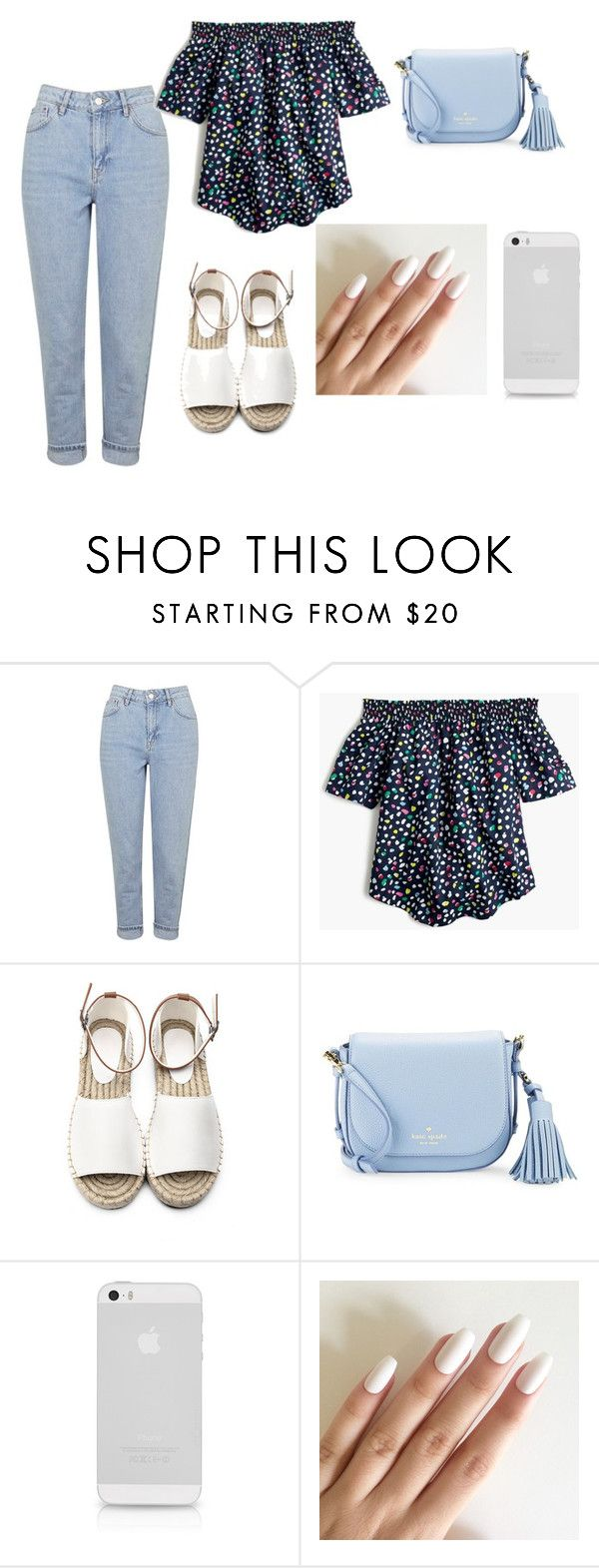 """""""Summer"""" by musiczyilive on Polyvore featuring Topshop, J.Crew and Kate Spade"""