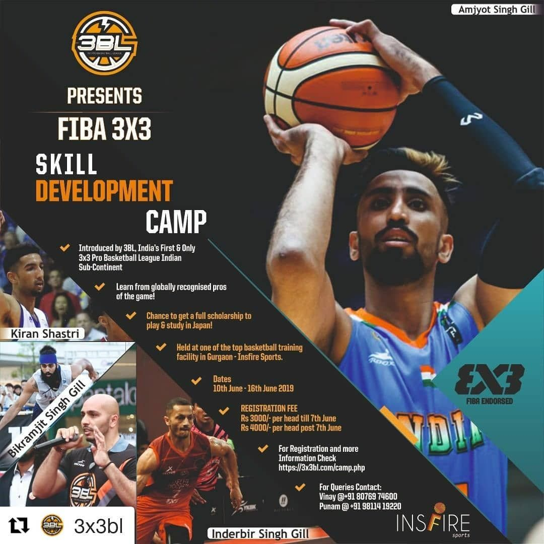 Ballers Take A Note On This Who Don T Want To Train Under India S Best Basketball Players Please Utilize Thi Skills Development Basketball Training Under 17