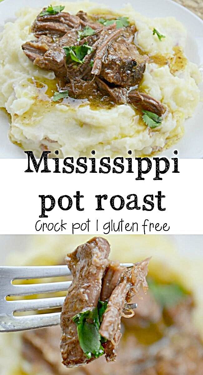 - How to make a Mississippi pot roast in your crock pot. Start with a chuck roast, toss it in your s...