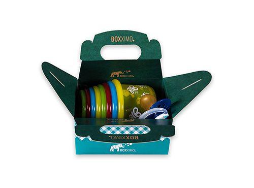 Lunchbox M - Bild 3 - im Verpackung Onlineshop Boxximo kaufen. Unsere große Auswahl an Verpackungen bieten den richtigen Karton für jede Gelegenheit. Bei www.boxximo.de lässt sich jede Verpackung individuell gestalten ab einer Auflage von 1 Stück online bedrucken.  Lunchbox M - Innenmaße: 119mm x 89mm x 59mm (Länge x Breite x Höhe)