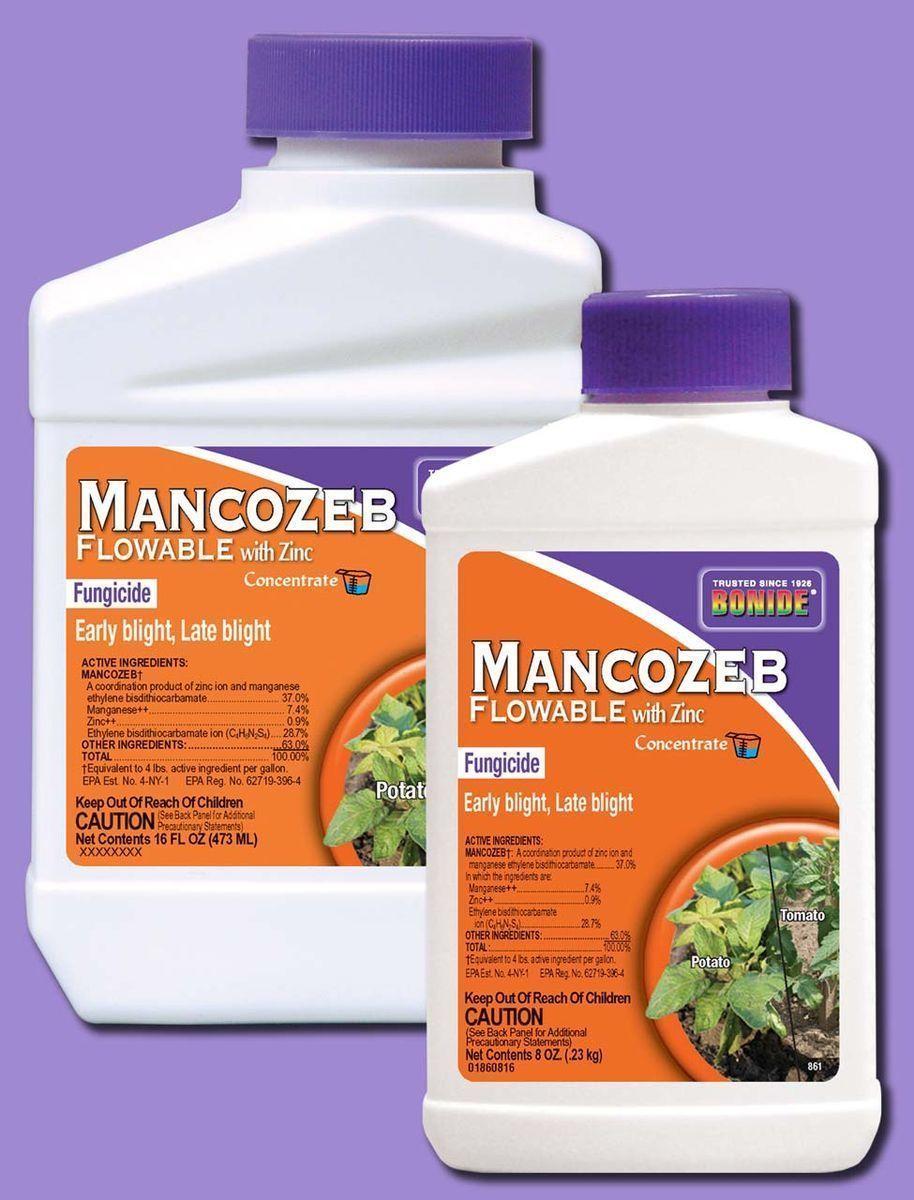 Herbicides and Fungicides 181048: Bonide Mancozeb With Zinc