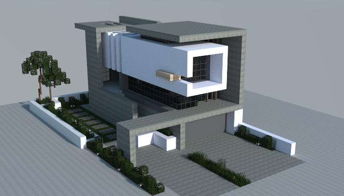 modern house that  made in minecraft also maisons modernes rh sk pinterest