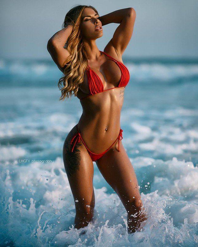 Porn fit girl bikini asian