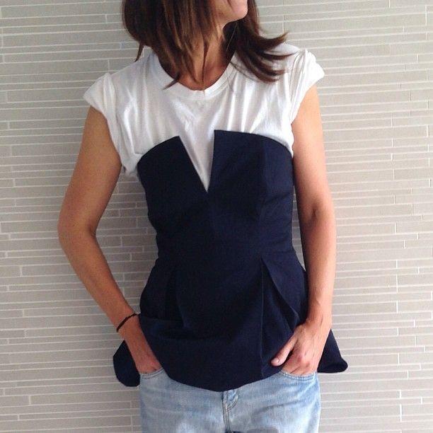 042b2d4ffa Great Idea  T-shirt under strapless top