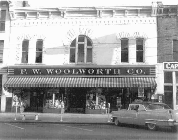 F W Woolworth Co Middlesboro Ky Middlesboro Cumberland Gap
