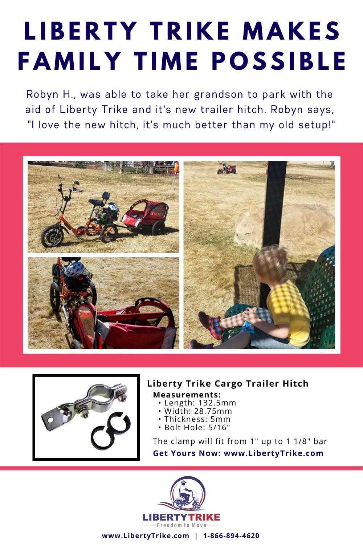 Liberty Trike Cargo Trailer Hitch in 2020 Cargo trailers