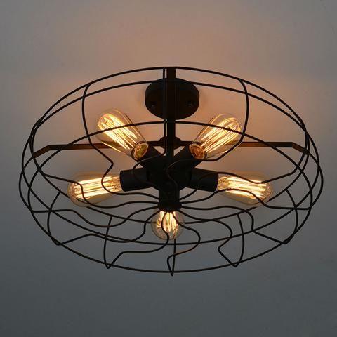 Vintage American Ceiling Light Fixture-Dazzle Studio & Fine ...